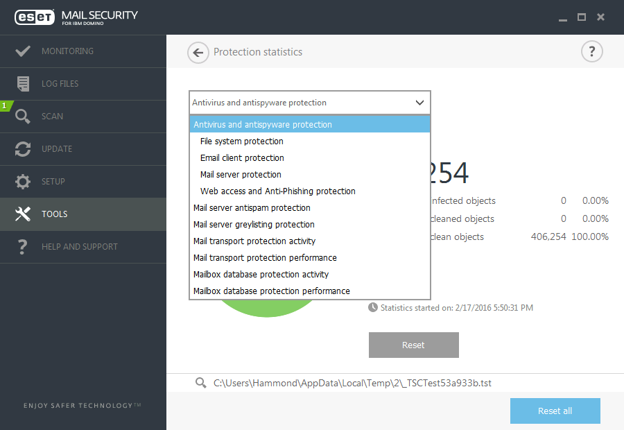 ESET Mail Security for IBM Domino