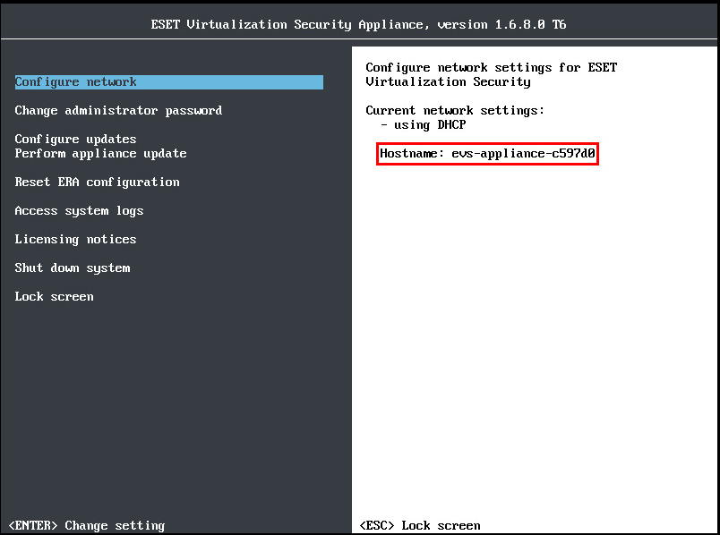 How to access system logs | ESET Virtualization Security