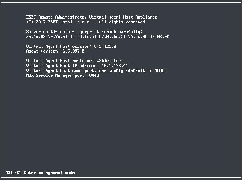 Register ESET to VMware NSX Manager   ESET Virtualization